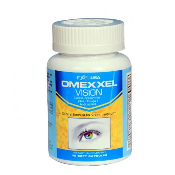 Viên uống bổ mắt Omexxel Vision (Lọ 30 viên) - xuất xứ Mỹ + tặng 1 chai dầu tràm 30ml
