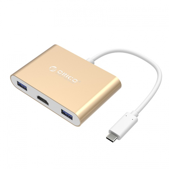Đầu đổi Type C  sang HDMI ORICO RCH-GD (Màu Gold)