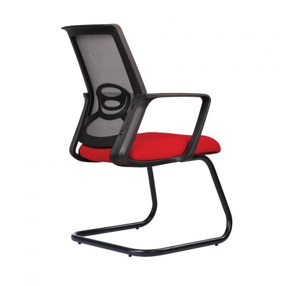 Ghế lưới văn phòng CZN1041 chân quỳ màu đỏ - COZINO