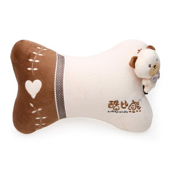 Gối đầu khúc xương kiểu T01 Focus Cobe Panda K-T01A màu kem