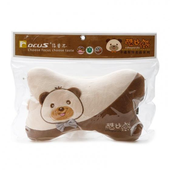 Gối đầu khúc xương kiểu T02 Focus Cobe Panda K-T02A màu kem
