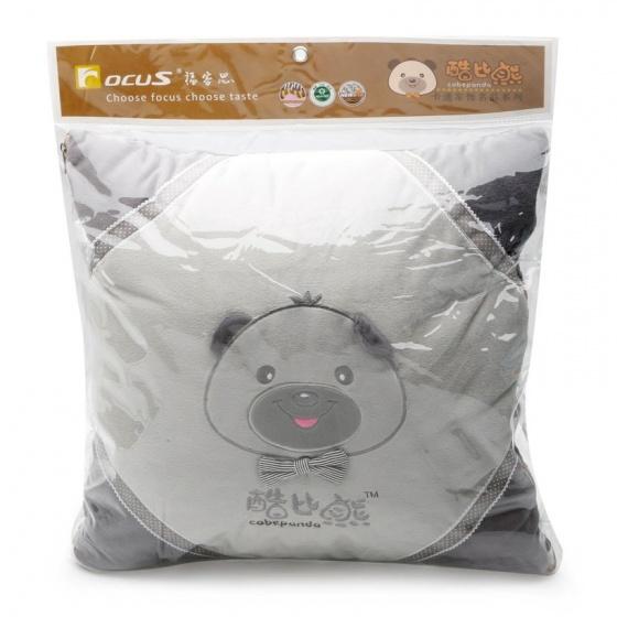 Lót lưng đa năng Focus Cobe Panda K-LB02B màu xám