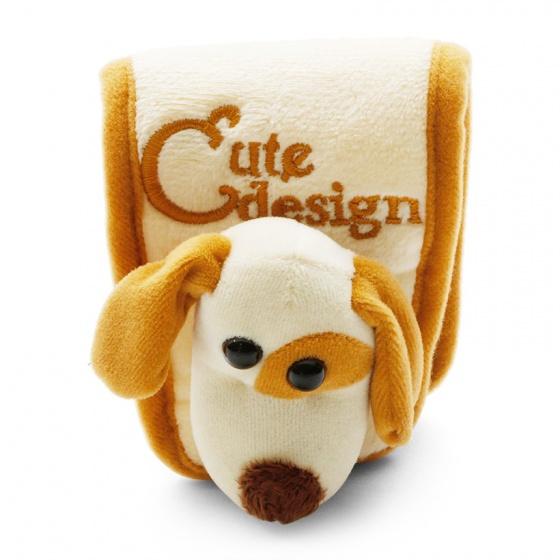 Trang trí bọc tay số Focus chó Mation FM-X03A màu kem