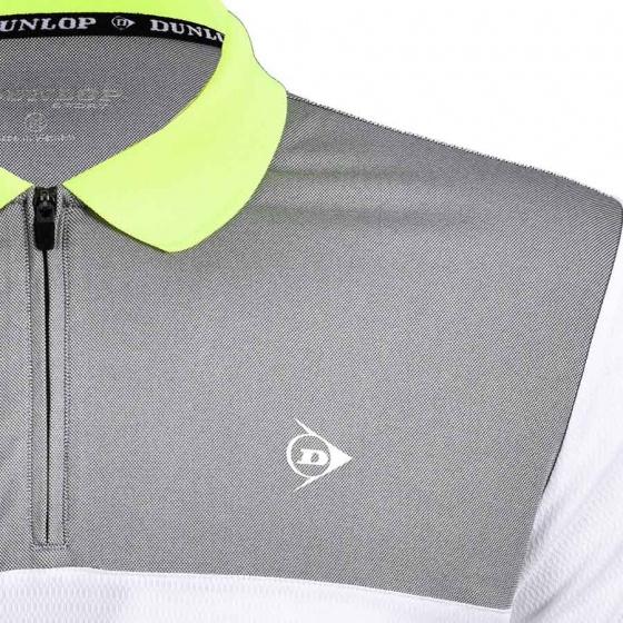 Áo thể thao nam Dunlop - DABAS8087-1C-WT (Trắng)