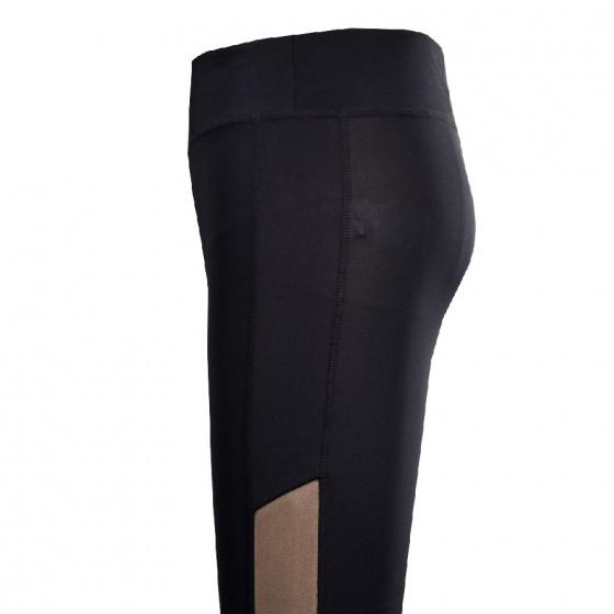 Quần gym nữ Dunlop - DQGYS8104-2S-BK (đen)