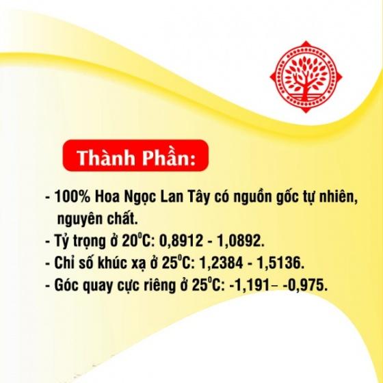 Tinh dầu ngọc lan tây Gold cao cấp 10 ml