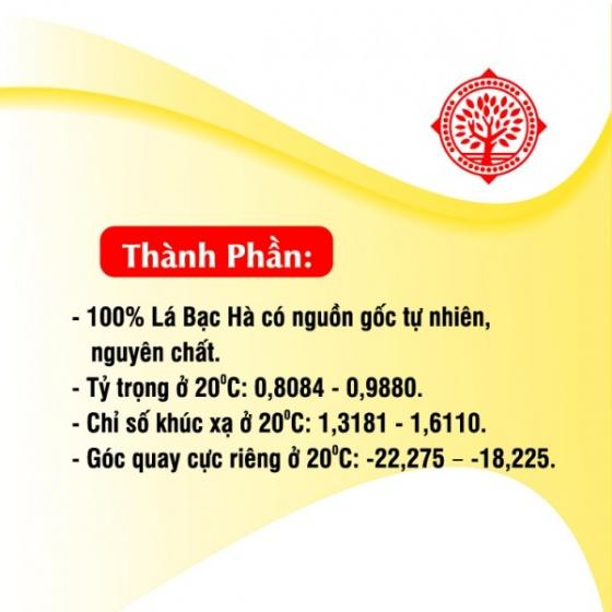 Tinh dầu bạc hà Gold cao cấp 10 ml