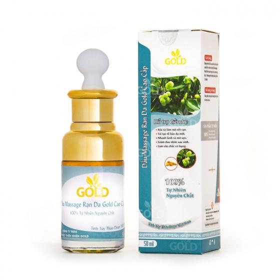 Dầu massage rạn da Gold cao cấp 50 ml