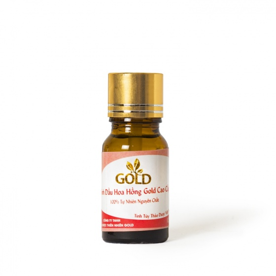 Tinh dầu hoa hồng Gold cao cấp 10 ml
