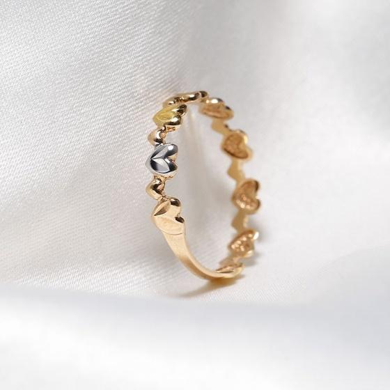 Nhẫn vàng 18k Passionate Kiss