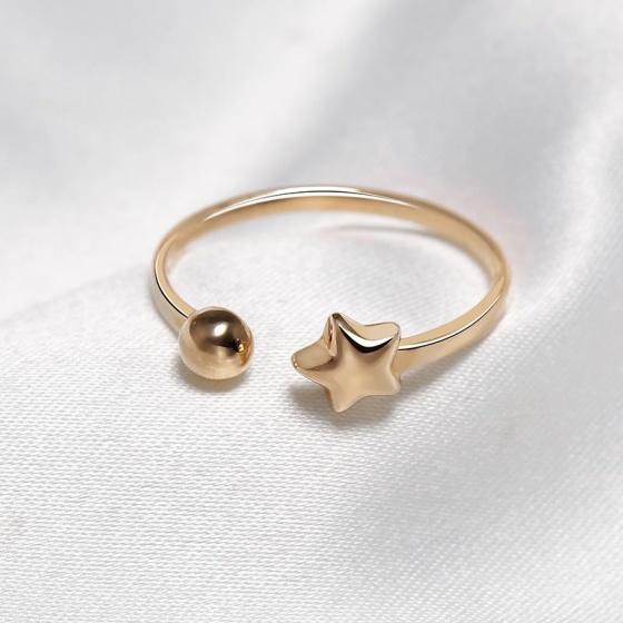 Nhẫn vàng 18k Free Star