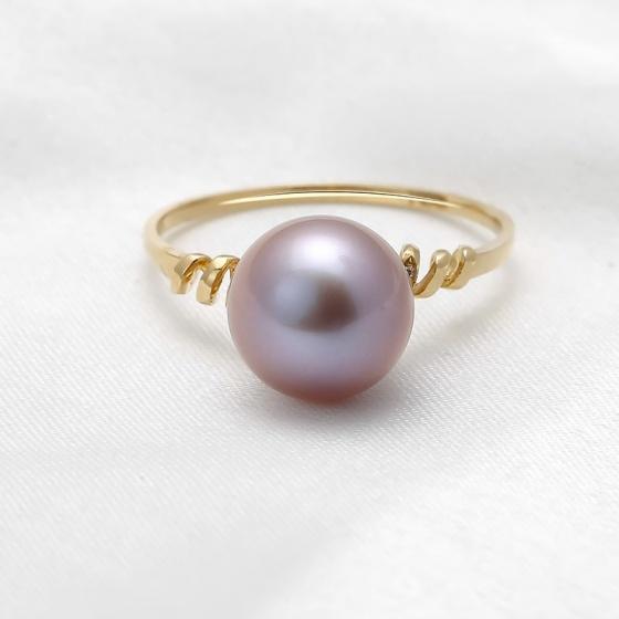 Nhẫn vàng 18k Diamond Pearl