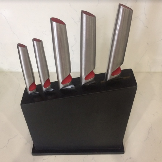 Bộ dao tay đỏ Flamenco FSKBS01