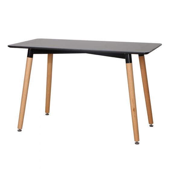 Bàn ăn, bàn cafe 4 chân gỗ ở tphcm – Mã: T108B