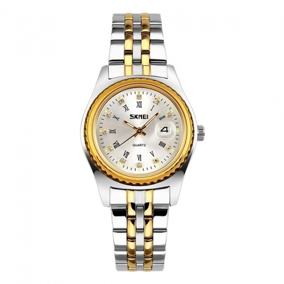 Đồng hồ nữ Skmei chính hãng NTS064 vàng