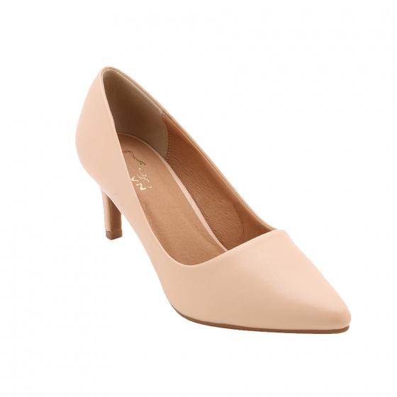 Giày cao gót thời trang nữ hiệu MOL MC170801Be