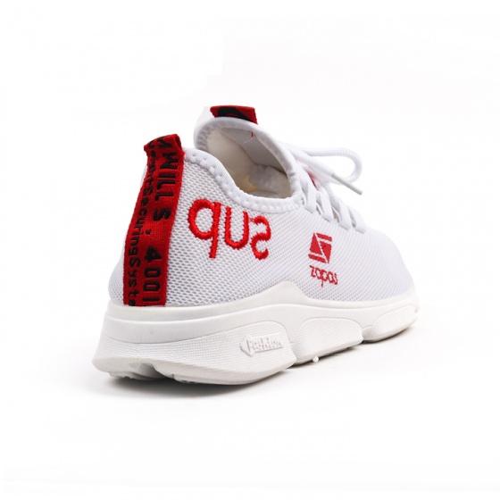 Giày nam đẹp thể thao sneaker thời trang Zapas - GZ030 (Trắng)