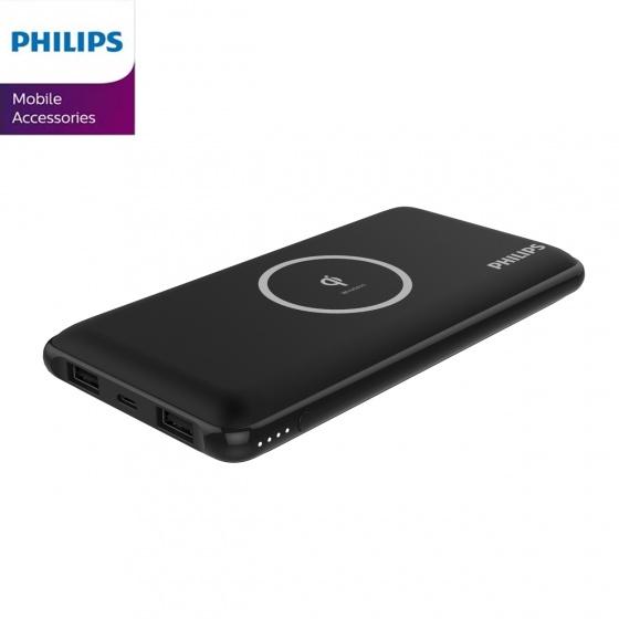 Pin sạc dự phòng kiêm sạc không dây Philips DLP9611 với công nghệ Qi 10000 mAh