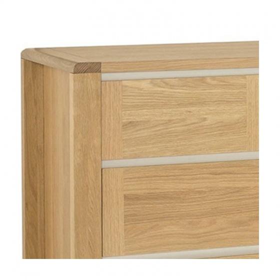 Tủ 4 ngăn kéo ngang Casa gỗ sồi - IBIE