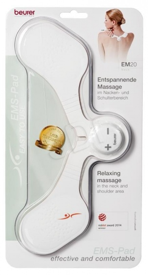 Máy massage xung điện trị đau cổ vai gáy Beurer EM20NECK