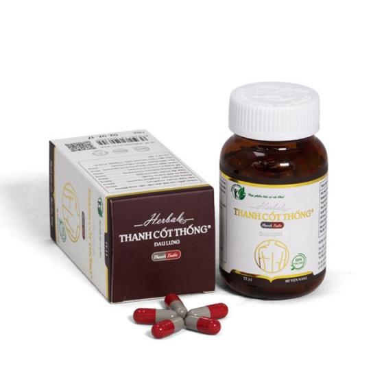 Thanh Cốt Thống - Thực phẩm chức năng hỗ trợ điều trị đau lưng