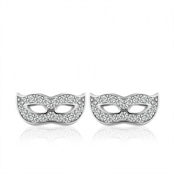 Bông tai bạc Beautiful Masks