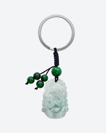 Móc khóa cẩm thạch  tuổi tỵ Ngọc Quý Gemstones