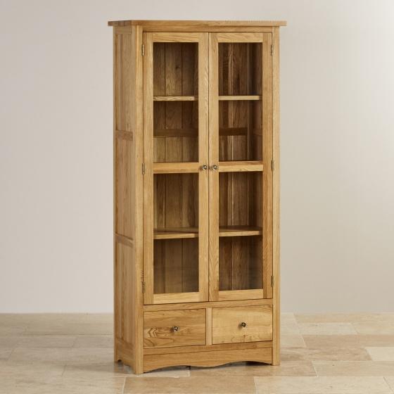 Tủ trưng bày Cawood gỗ sồi 1m - Cozino