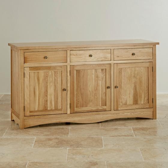 Tủ chén lớn Cawood gỗ sồi - Cozino