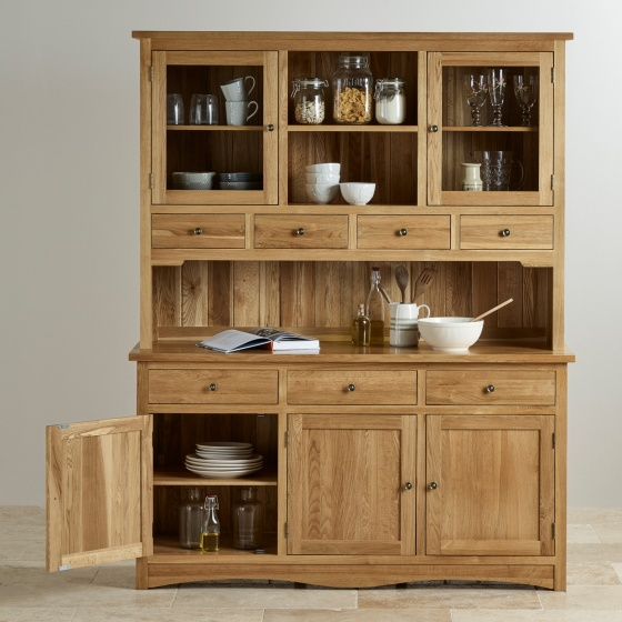 Tủ bếp lớn Cawood gỗ sồi - Cozino