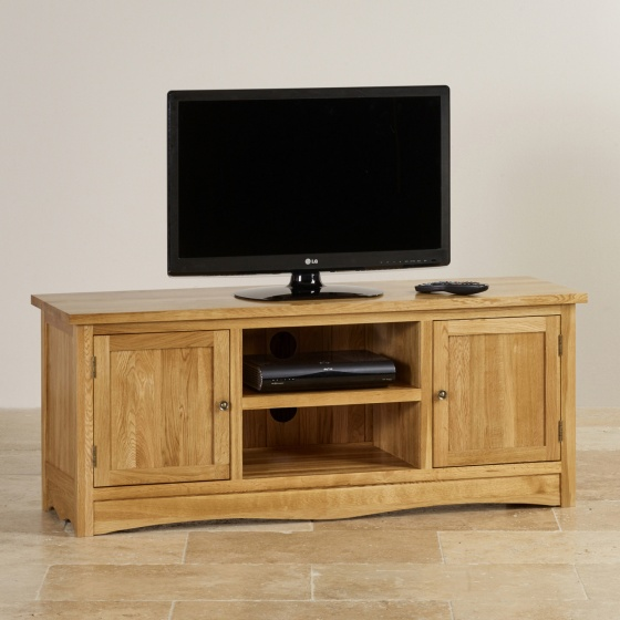Tủ tivi lớn Cawood gỗ sồi - Cozino