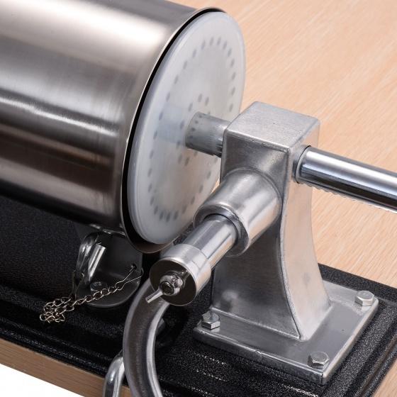 Máy đùn xúc xích quay tay - inox 304 - 3L