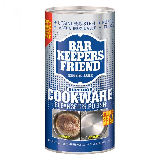 Bột làm sạch đa năng Bar Keepers Friend Cookware Cleanser & Polish