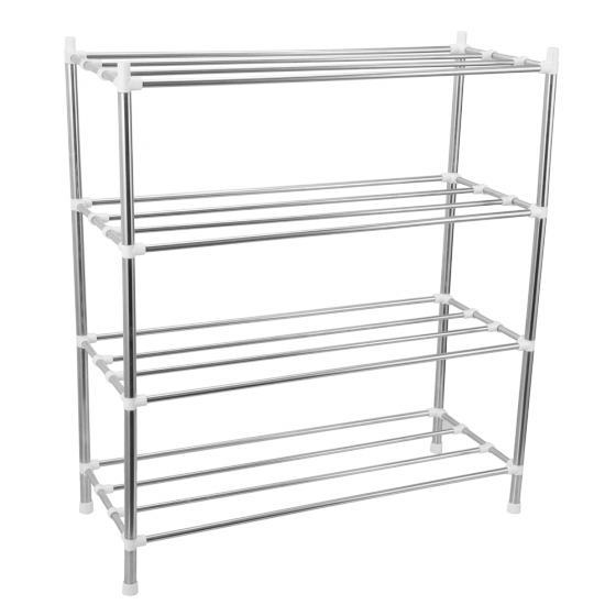 Kệ dép inox 4 tầng lắp ráp CB