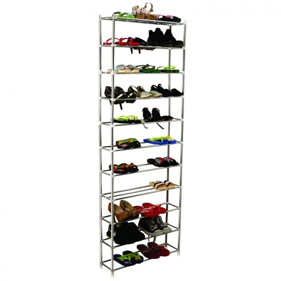 Kệ giày dép inox 11 tầng cao cấp CB siêu bền