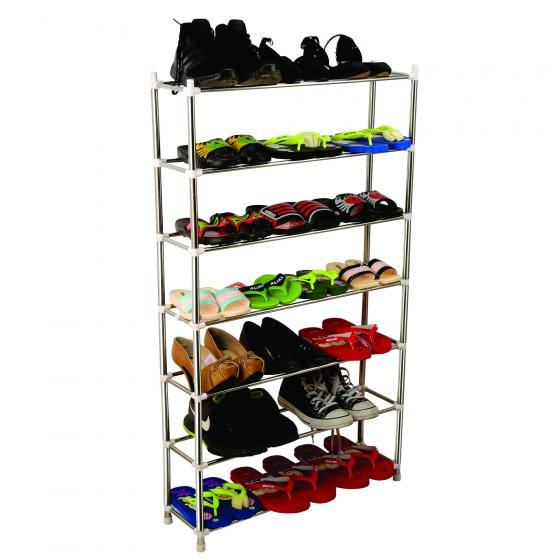 Kệ inox để giày dép siêu bền 7 tầng CB