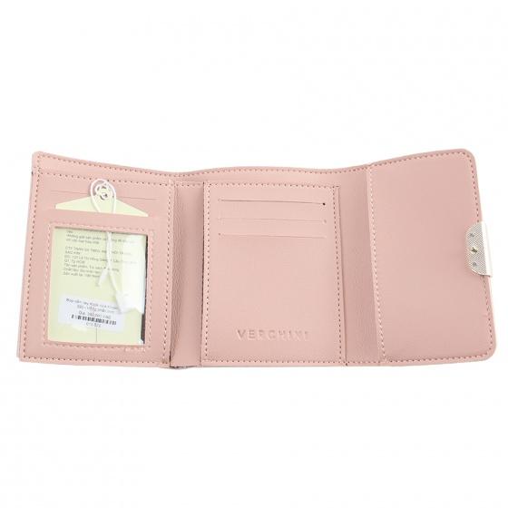 Ví cầm tay Verchini màu hồng 13000149