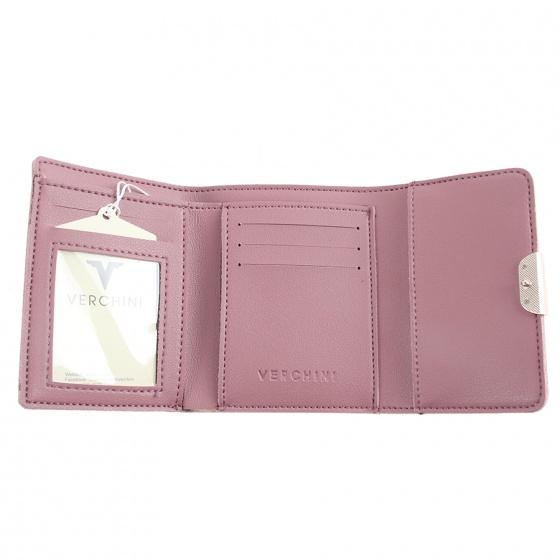 Ví cầm tay Verchini màu hồng ruốc 02004536