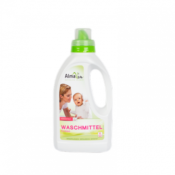 Nước giặt đậm đặc hữu cơ Almawin (750ml)