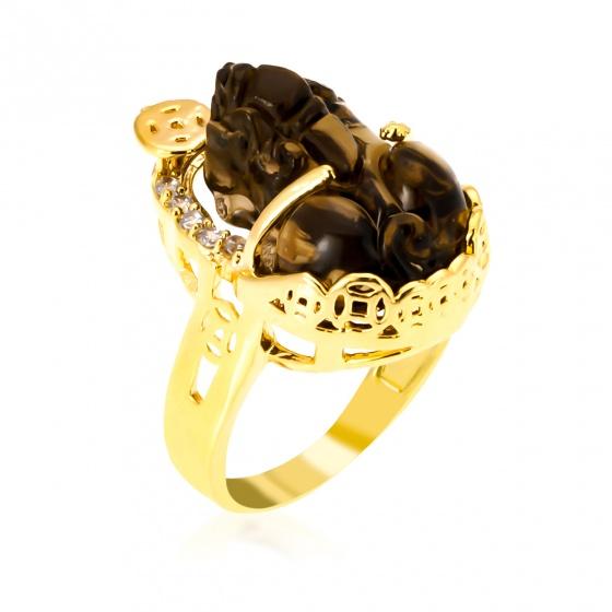 Nhẫn tỳ hưu đá đen