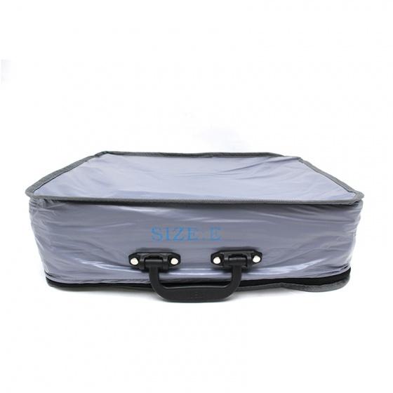 Bạt phủ ô tô Cind CD-525 2 lớp mỏng PVC+PP 4 chỗ lớn size E