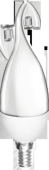 Bộ 03 đèn led nến Điện Quang ĐQ LEDCD03 02765 (2W daylight chụp mờ)