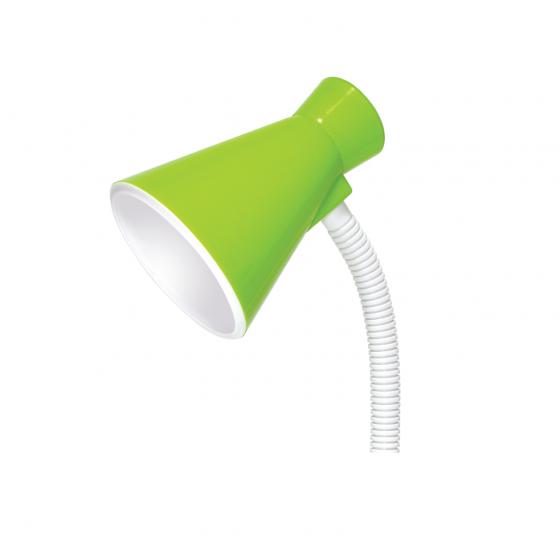 Đèn bàn Điện Quang ĐQ DKL08 GW BW (kiểu chóa nhựa, xanh lá-trắng, bóng warmwhite)