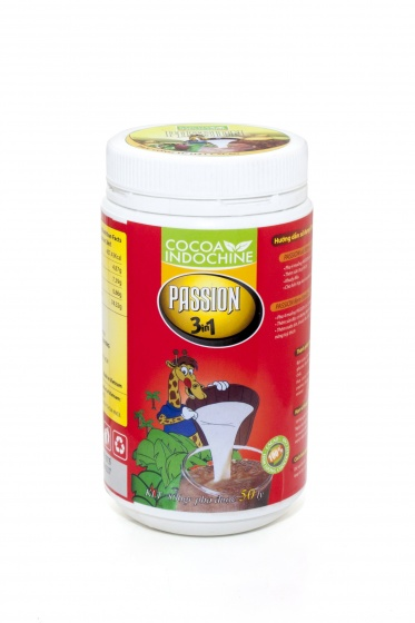 Cacao Passion 3in1 Cocoa Indochine (hũ 800g)