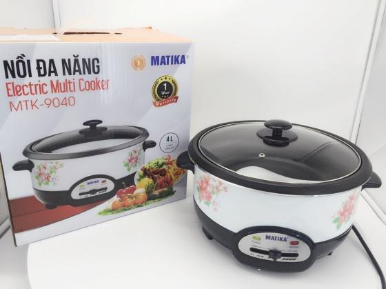 Nồi lẩu đa năng Matika MTK-9040