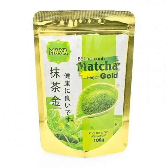 Bột trà xanh matcha hiệu Gold (100g/Túi)
