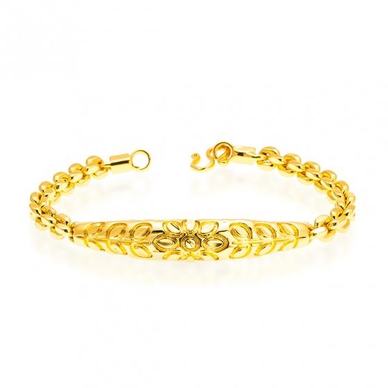 Lắc tay mạ vàng 24K - 01
