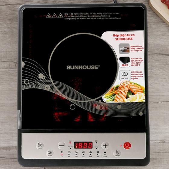 Bếp từ bếp điện từ Sunhouse SHD6149 đen
