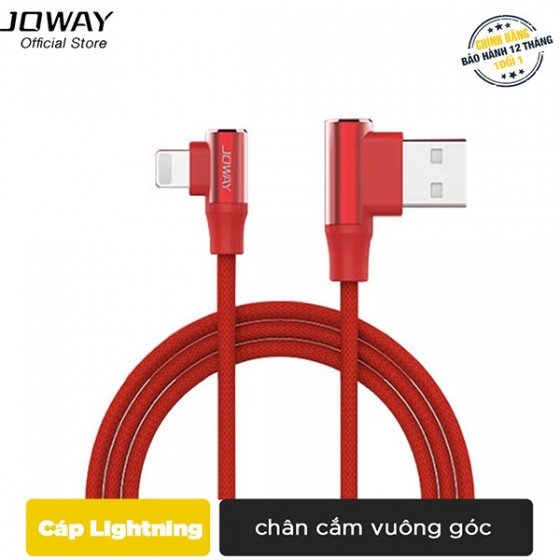 Dây sạc Lightning Joway Li112 cho iPhone
