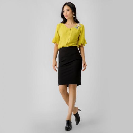 Chân váy ôm công sở Eden CV005